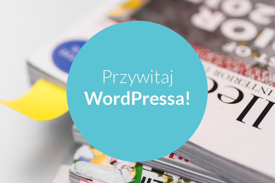 Strona internetowa naWordPressie