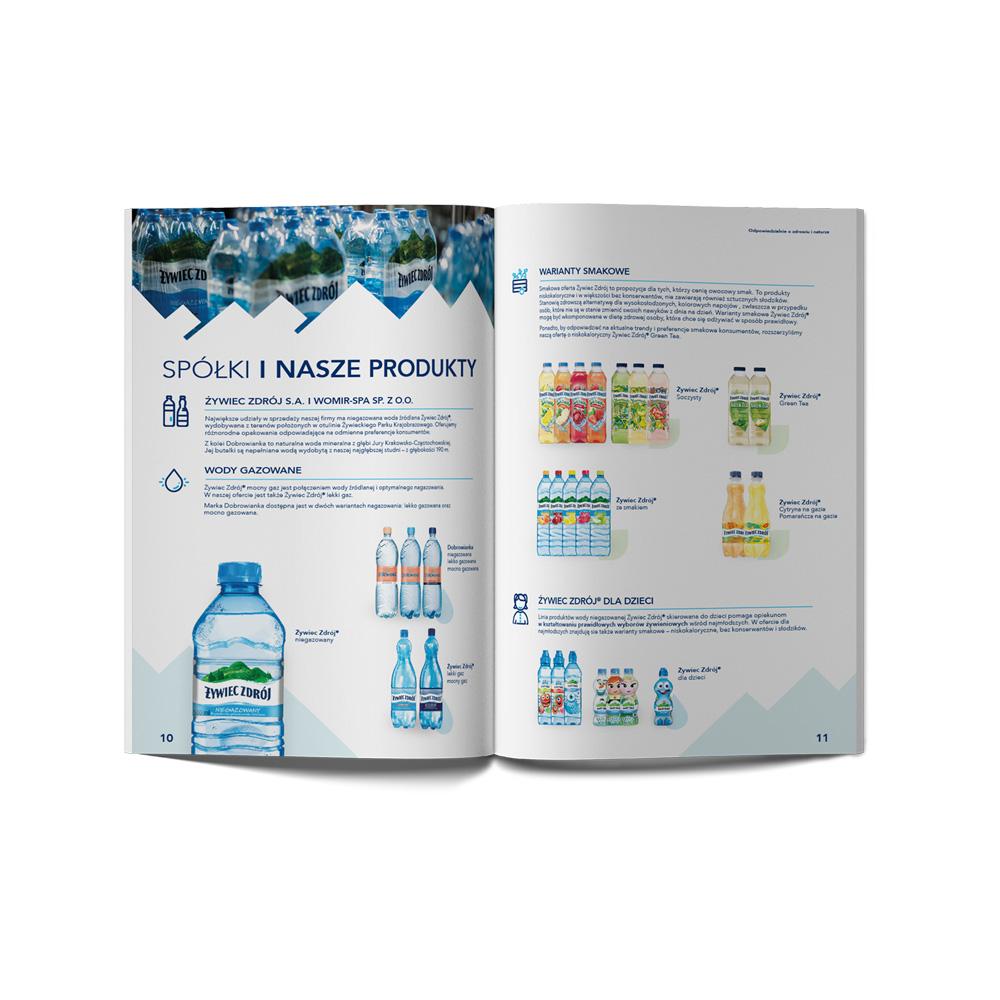 projekt katalogu cennik katalog żywiec