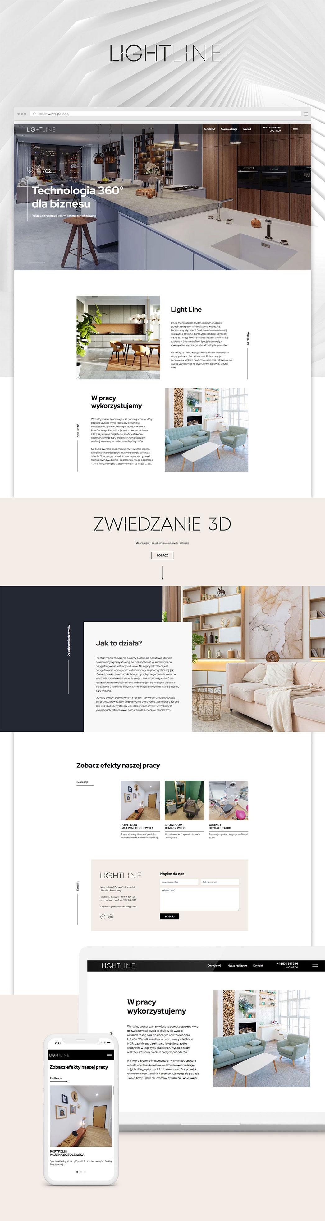 projektant wnętrz strona wordpress