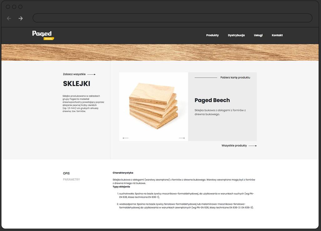 sklep internetowy Paged
